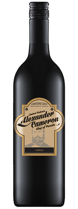 The Alexander Cameron Limestone Coast Shiraz 2017