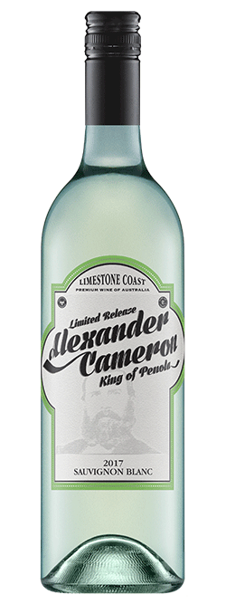 The Alexander Cameron Limestone Coast Sauvignon Blanc 2017