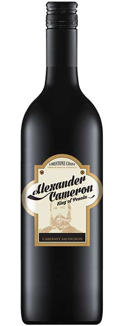 The Alexander Cameron Limestone Coast Cabernet Sauvignon 2018