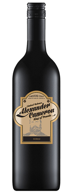 The Alexander Cameron Limestone Coast Shiraz 2018