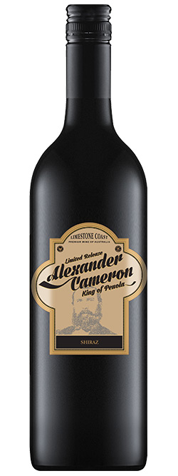The Alexander Cameron Limestone Coast Shiraz 2019