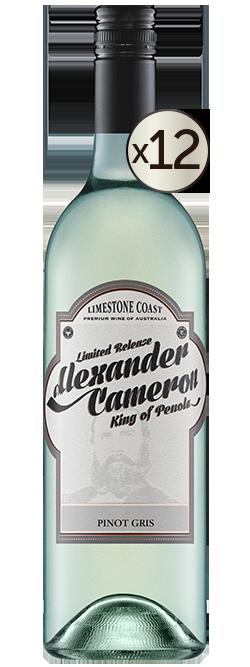 The Alexander Cameron Limestone Coast Pinot Gris 2019 Dozen