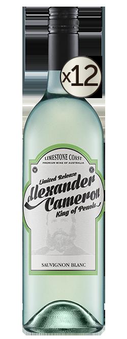 The Alexander Cameron Limestone Coast Sauvignon Blanc 2019 Dozen