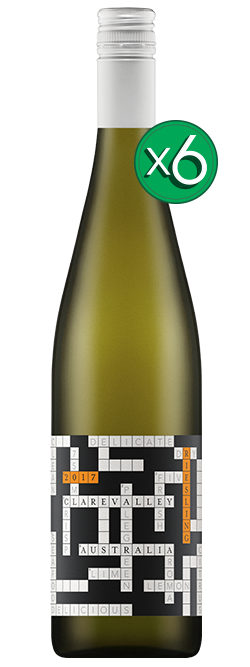 Crosswords Clare Valley Riesling 2017 6pack