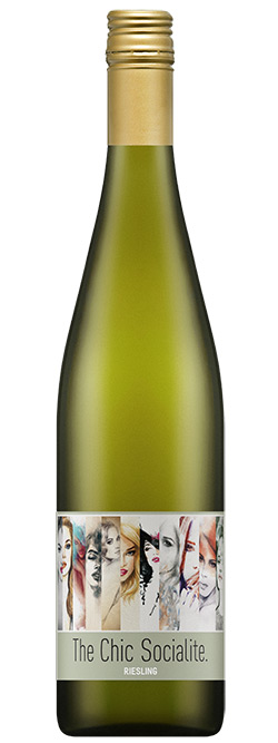 The Chic Socialite Clare Valley Riesling 2017