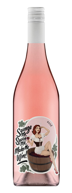 Squeeze Me Squish Me Make Me Wine Rose 2016