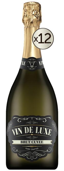 Vin De Luxe Sparkling Brut Cuvee Nv Dozen