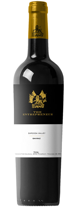 The Colonial Estate Entrepreneur Barossa Valley Shiraz 2016