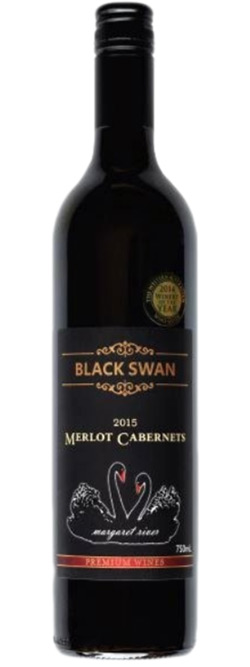 Watershed Black Swan Margaret River Merlot Cabernet 2015