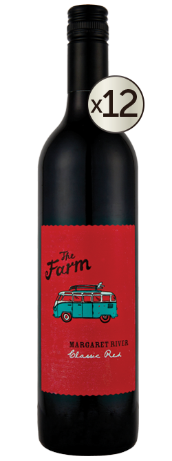 Watershed The Farm Margaret River Classic Red 2016 Dozen