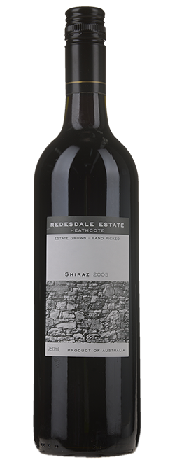 Redesdale Estate Heathcote Shiraz 2005