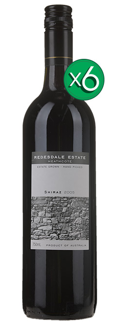 Redesdale Estate Heathcote Shiraz 2005 6pack