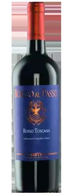 Borgo Al Passo Sangiovese Merlot IGT Toscana 2016