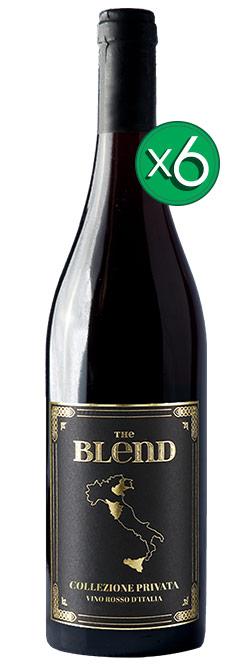 Riolite Vini Sangiovese Nero d'Avola e Corvina The Blend 6pack