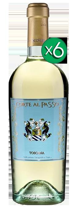 Corte Al Passo Chardonnay Banco IGT Toscana 2017 6pack