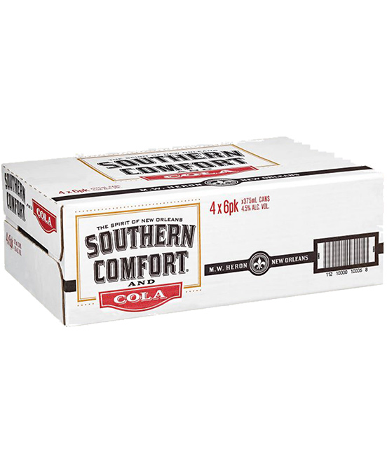 Southern Comfort & Cola Cans 24 Pack