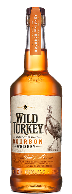 Wild Turkey Bourbon Whiskey 700mL