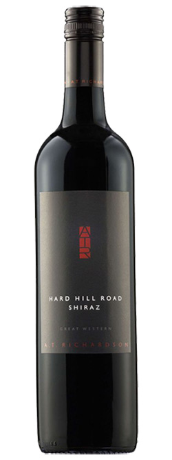 A.T. Richardson Wines Hard Hill Road Great Western Shiraz 2013