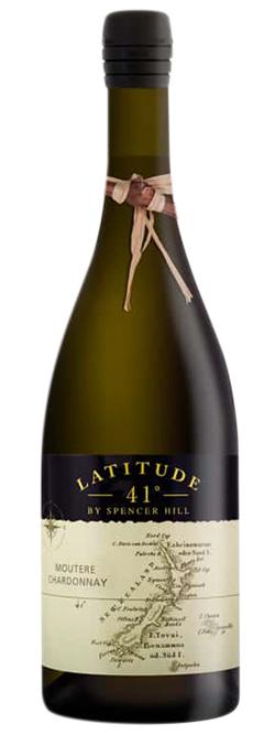 Latitude 41 Moutere Nelson Chardonnay 2017
