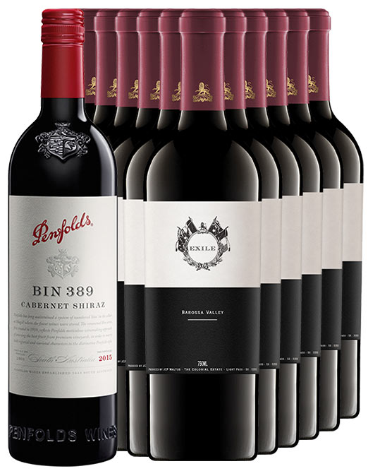The Colonial Estate Exile Barossa Valley Shiraz 2016 & Penfolds 389 Bundle