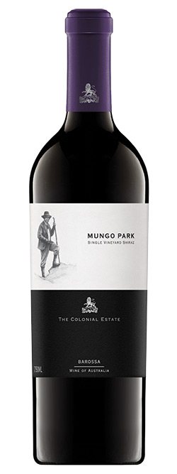 The Colonial Estate Mungo Park Single Vineyard Old Vine Barossa Valley Shiraz 2016