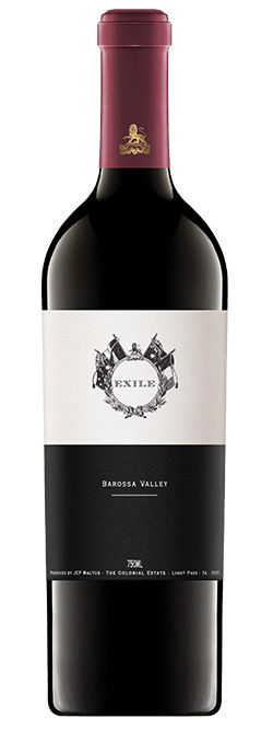 The Colonial Estate Exile Barossa Valley Shiraz 2017
