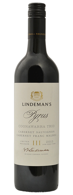 Lindemans Coonawarra Trio Pyrus Cabernet Blend 2013