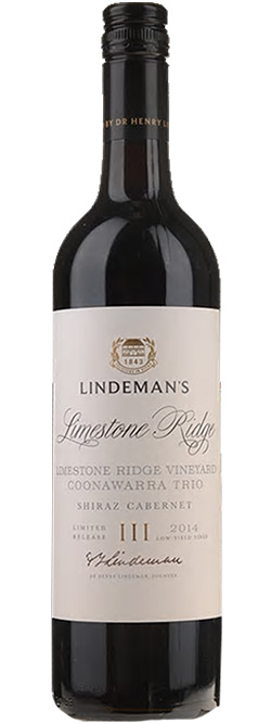 Lindemans Limestone Ridge Vineyard Shiraz Cabernet 2014