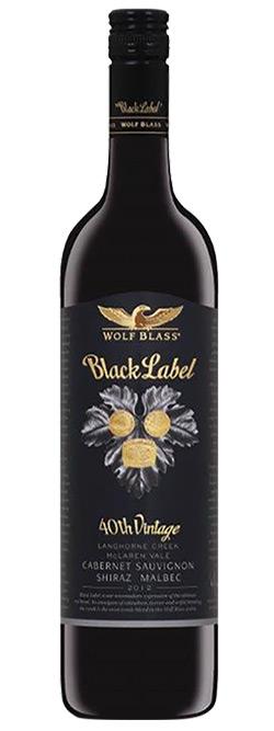 Wolf Blass Black Label Cabernet Sauvignon Shiraz Malbec 2012