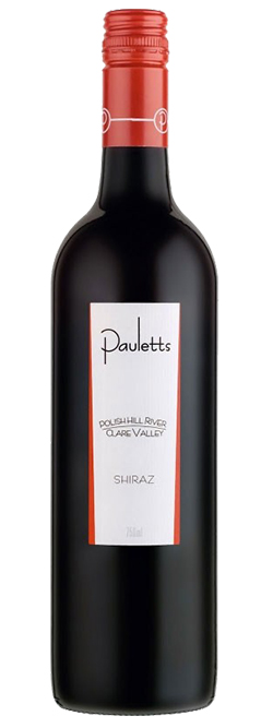 Pauletts Polish Hill River Clare Valley Shiraz 2015