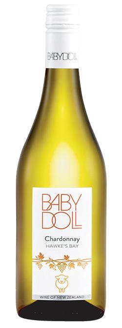 Baby Doll Hawkes Bay Chardonnay 2017
