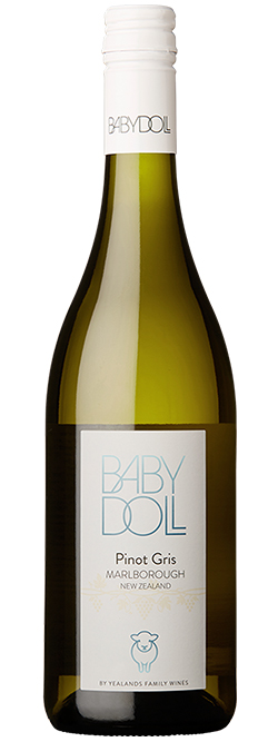Baby Doll Marlborough Pinot Gris 2018