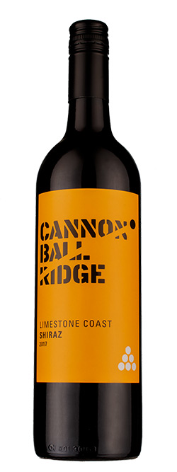 Cannon Ball Ridge Limestone Coast Shiraz 2017