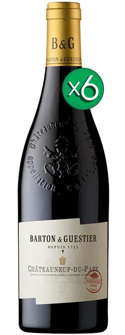 Barton & Guestier Vins De Provence Chateauneuf Du Pape 2015 6pack