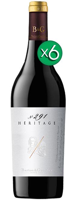 Barton & Guestier Vins De Provence Heritage No. 291 Syrah Grenache Nv 6pack
