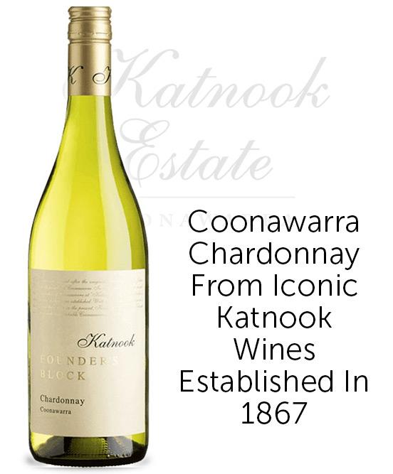Katnook Founders Block Coonawarra Chardonnay 2020