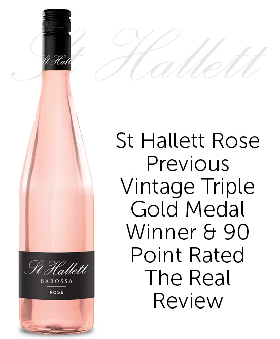St Hallett Barossa Rose 2020