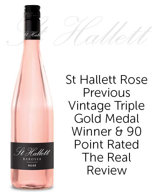 St Hallett Barossa Rose 2020