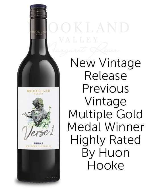 Brookland Valley Verse 1 Margaret River Shiraz 2019