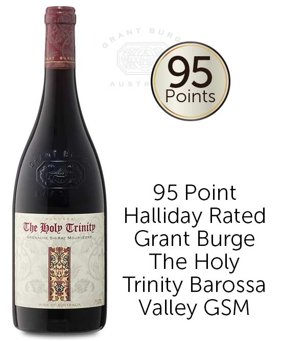 Grant Burge The Holy Trinity Barossa Valley Grenache Shiraz Mourvedre 2015