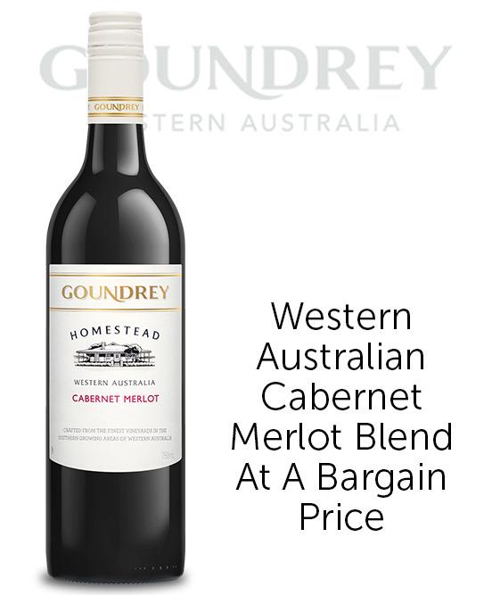 Goundrey Homestead Western Australia Cabernet Merlot 2018