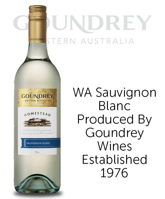 Goundrey Homestead Western Australia Sauvignon Blanc 2019