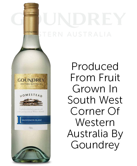 Goundrey Homestead Western Australia Sauvignon Blanc 2020