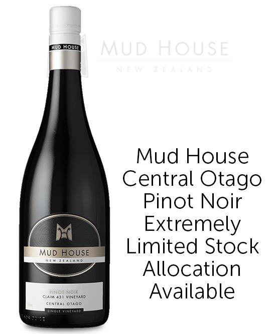 Mud House Single Vineyard Claim 431 Central Otago Pinot Noir 2019