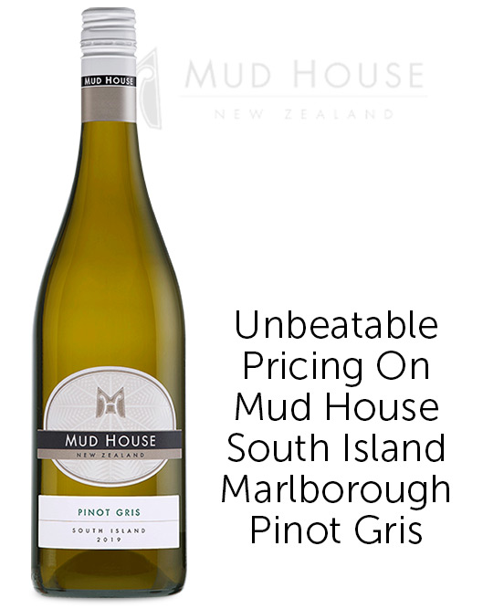 Mud House South Island Marlborough Pinot Gris 2019