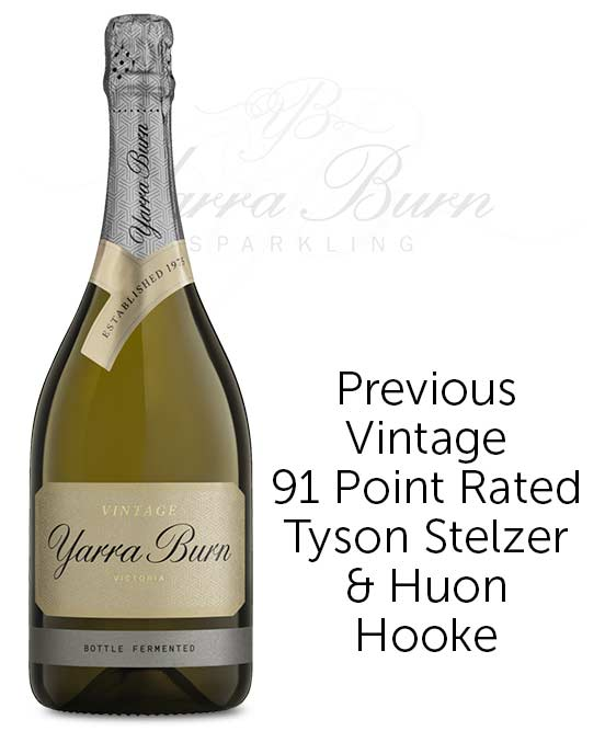 Yarra Burn Vintage Yarra Valley Pinot Noir Chardonnay Meunier 2019