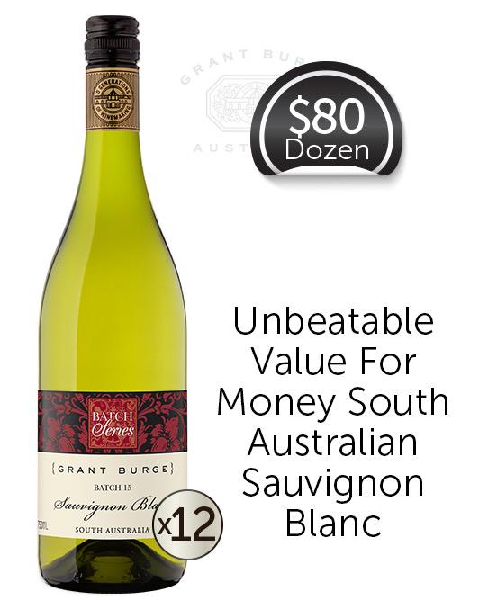 Grant Burge Batch 15 Sauvignon Blanc 2019 Dozen