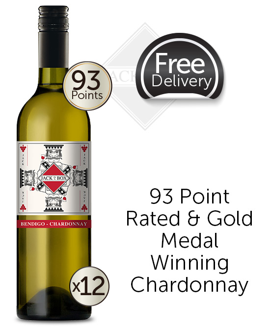 Jack In A Box Bendigo Chardonnay 2019 Dozen