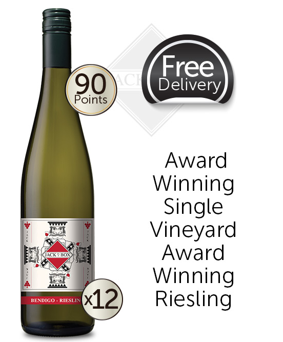 Jack In A Box Bendigo Riesling 2019 Dozen