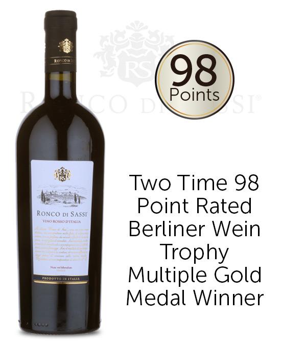 Ronco di Sassi Vino Rosso d'Italia 2015